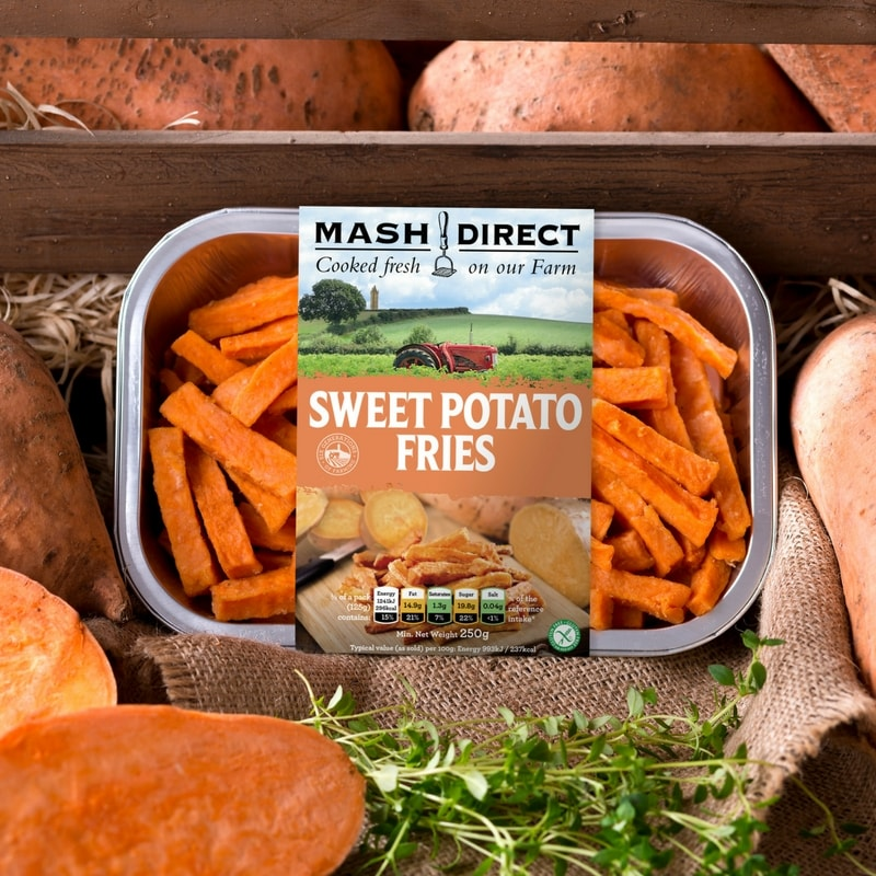 We Launch Our Sweet Potato Fries Mash Direct