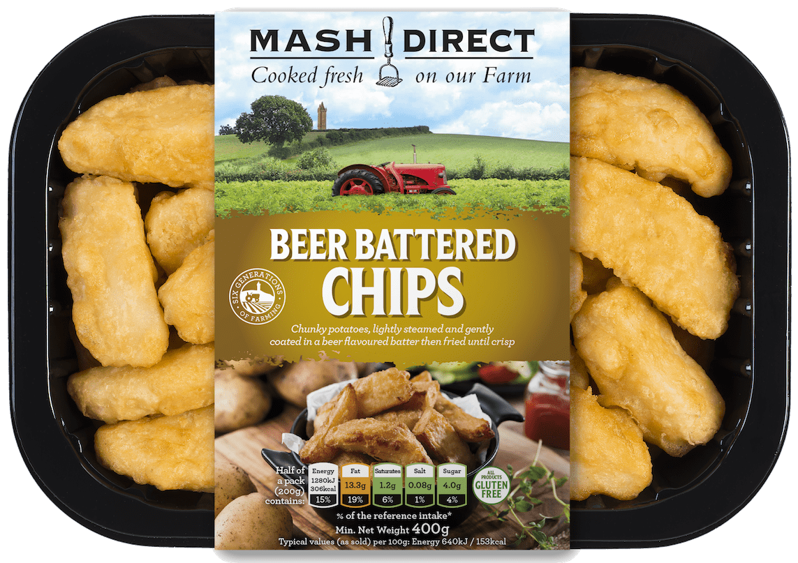 Beer Battered Chips