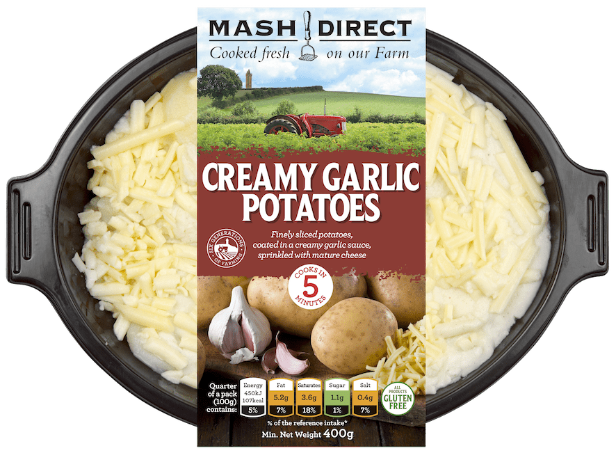 Creamy Garlic Potatoes