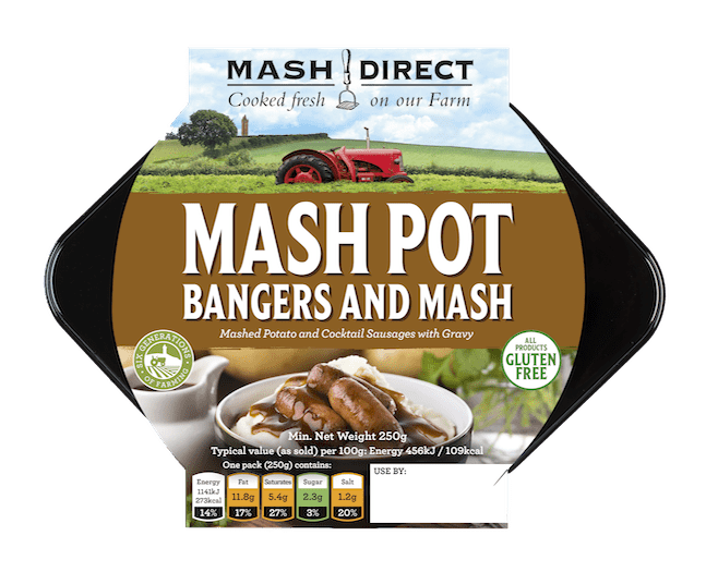 Mash Pot - Bangers and Mash