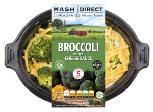 Broccoli with a Cheese Sauce
