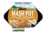 Mash Pot – Mashed Potato, Carrot & Parsnip with Bacon