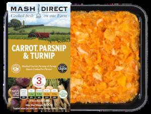 Carrot, Parsnip & Turnip Mash