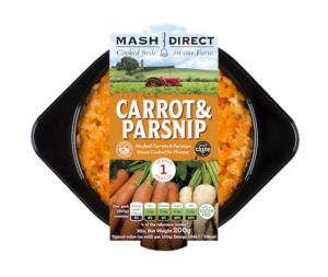 Carrot & Parsnip Mash for One