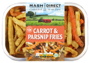 Carrot & Parsnip Fries