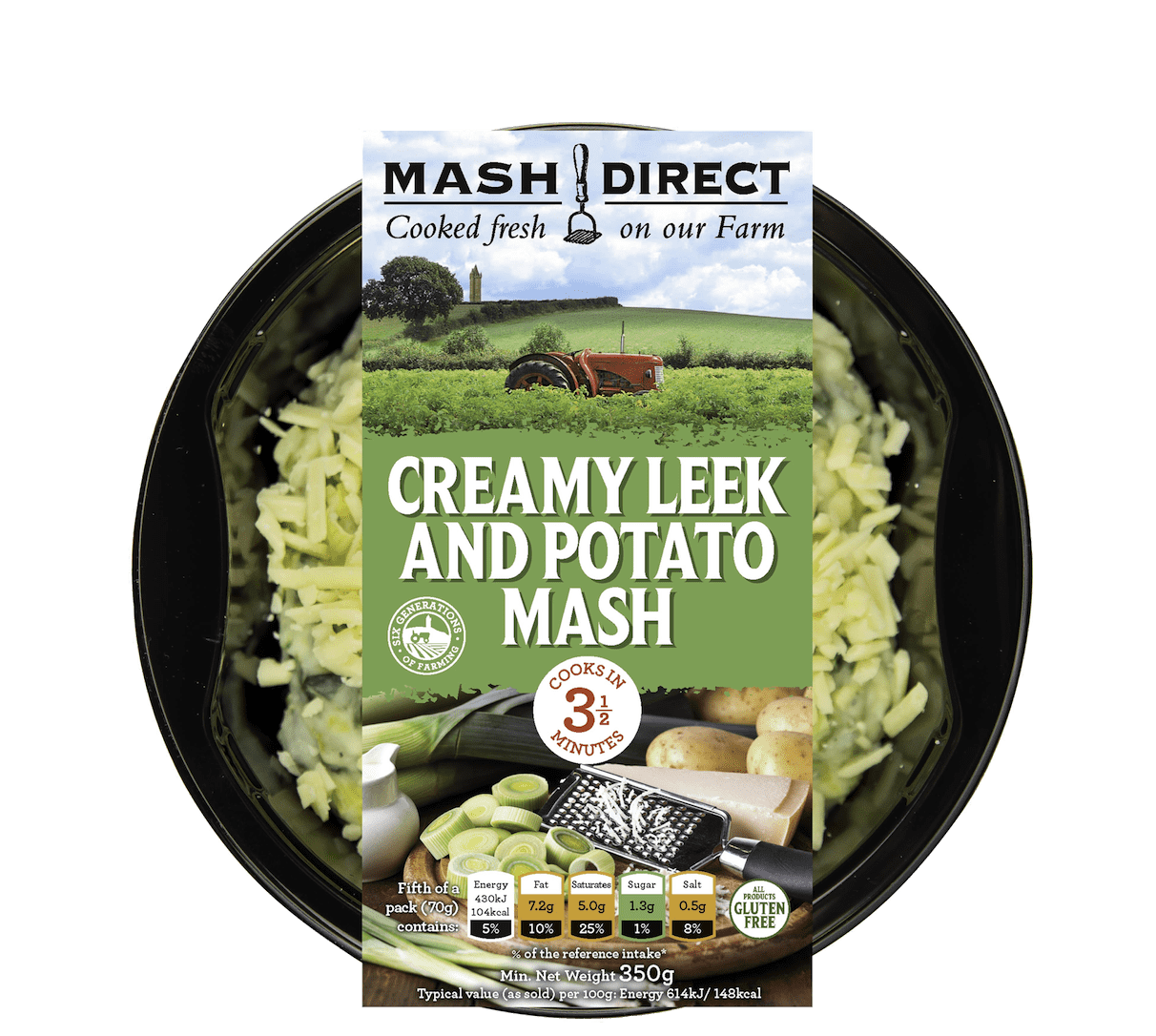 Creamy Leek and Potato Mash