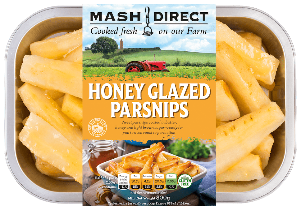 Honey Glazed Parsnips