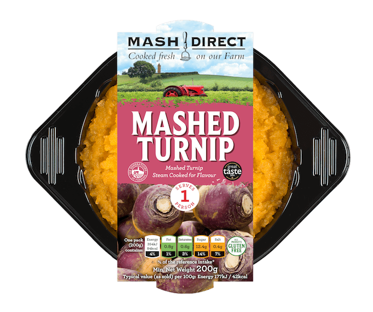 Mashed Turnip for One