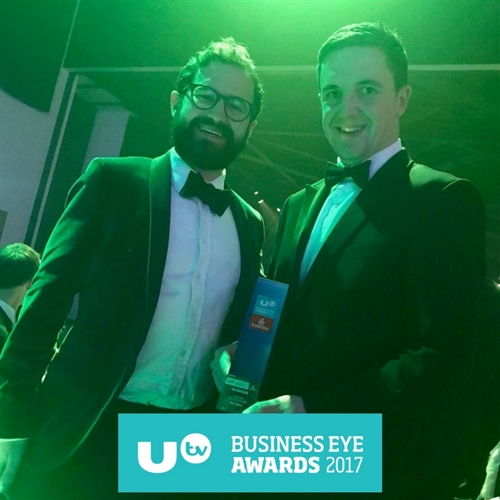 We win at UTV's Business Eye Awards!