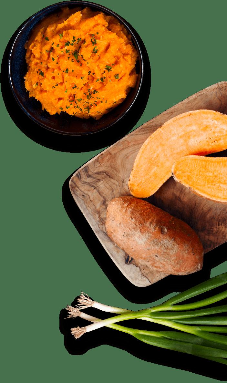Sweet Potato Mash Caribbean Style