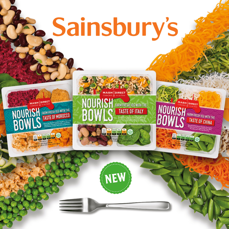Nourish Bowls in Sainsbury's Northern Ireland!
