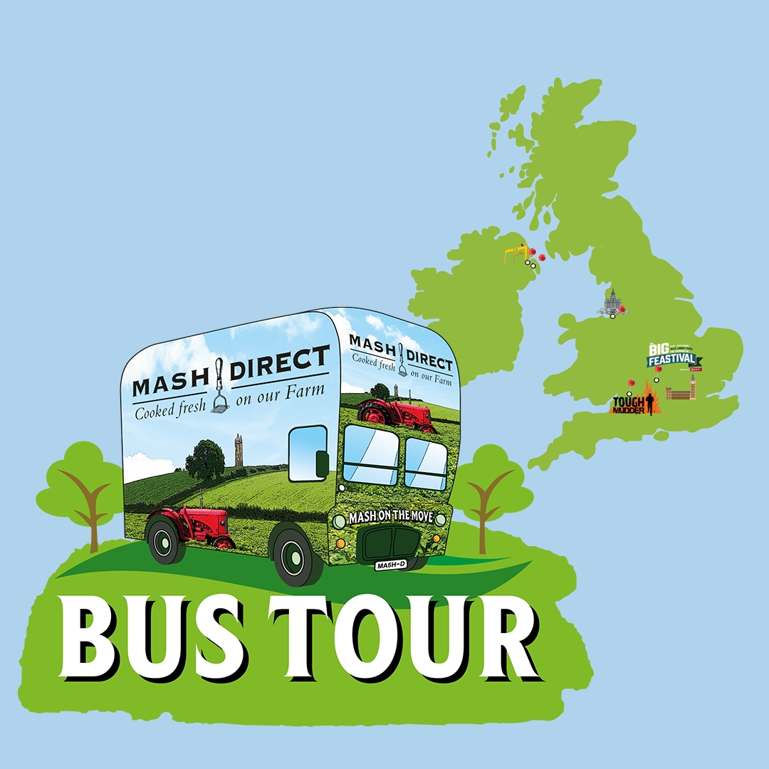 We're taking our Mash Bus on tour!