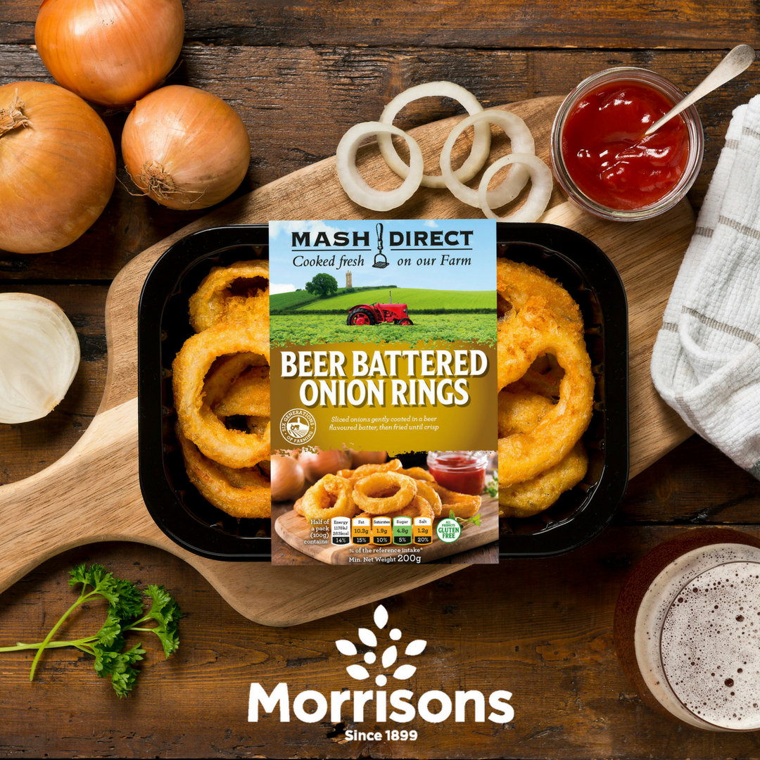Exciting Beer Battered Onion Rings News!!