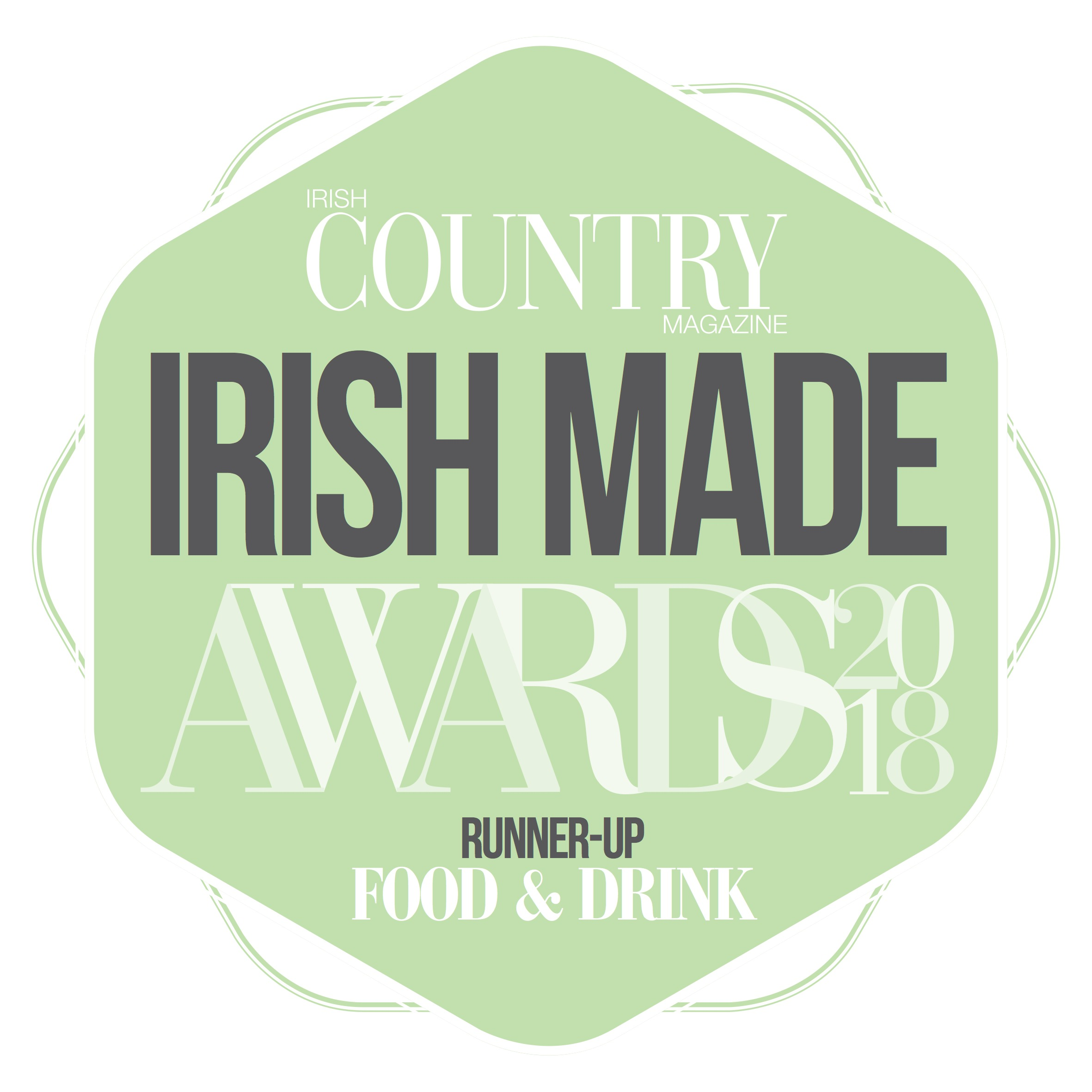 Irish Made Awards 2018 – Runner Up