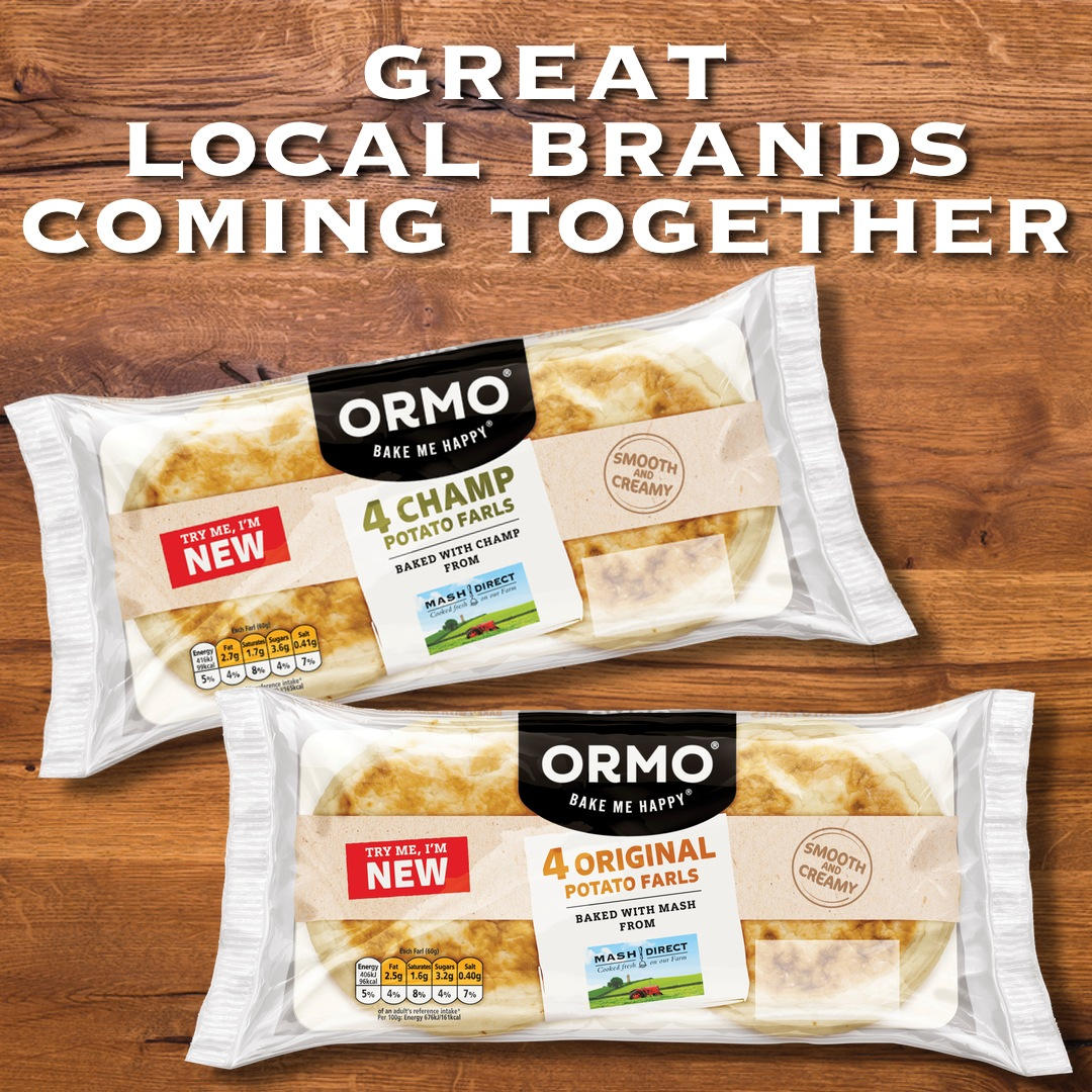 We've teamed up with ORMO!