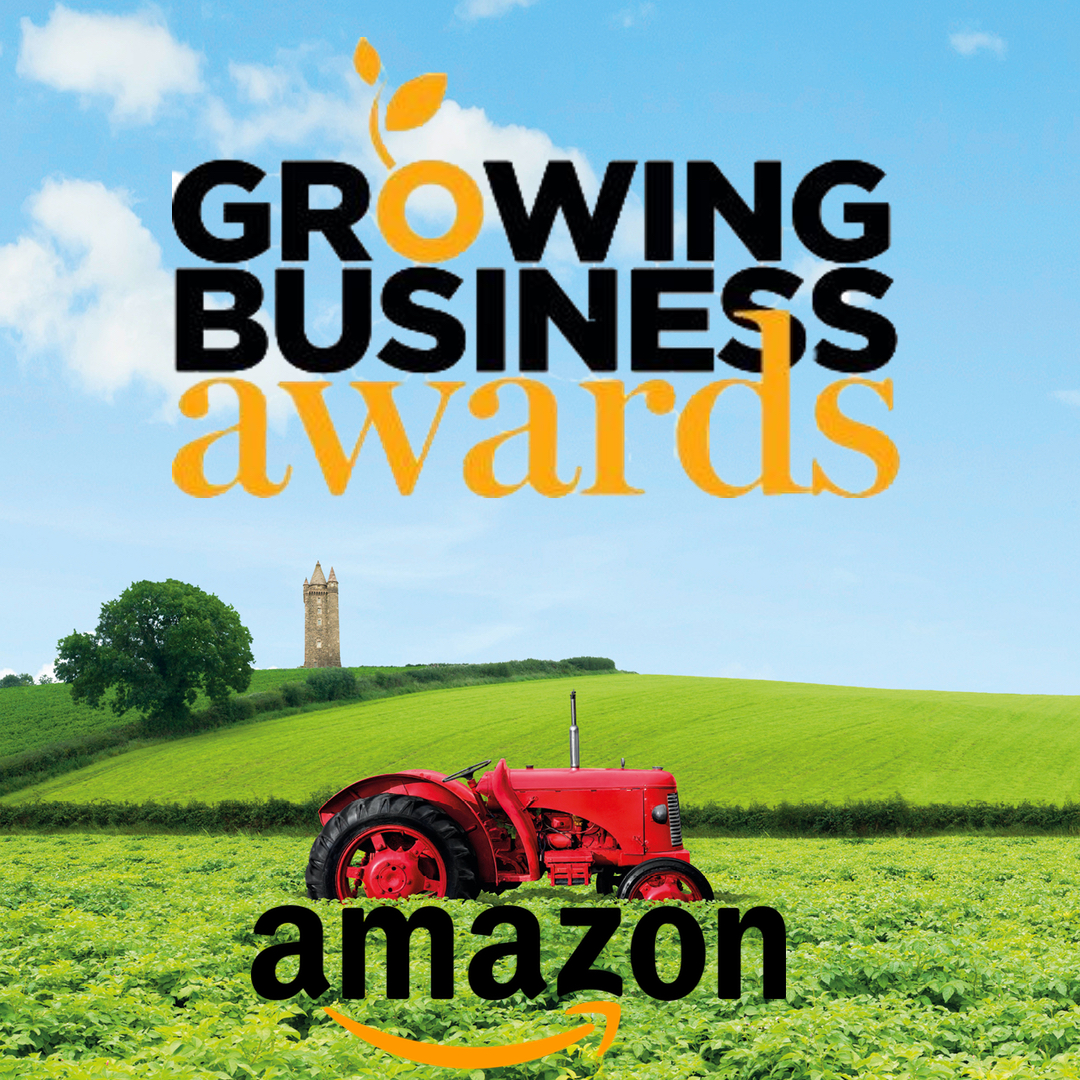 We're finalists in the Amazon Growing Business Awards!