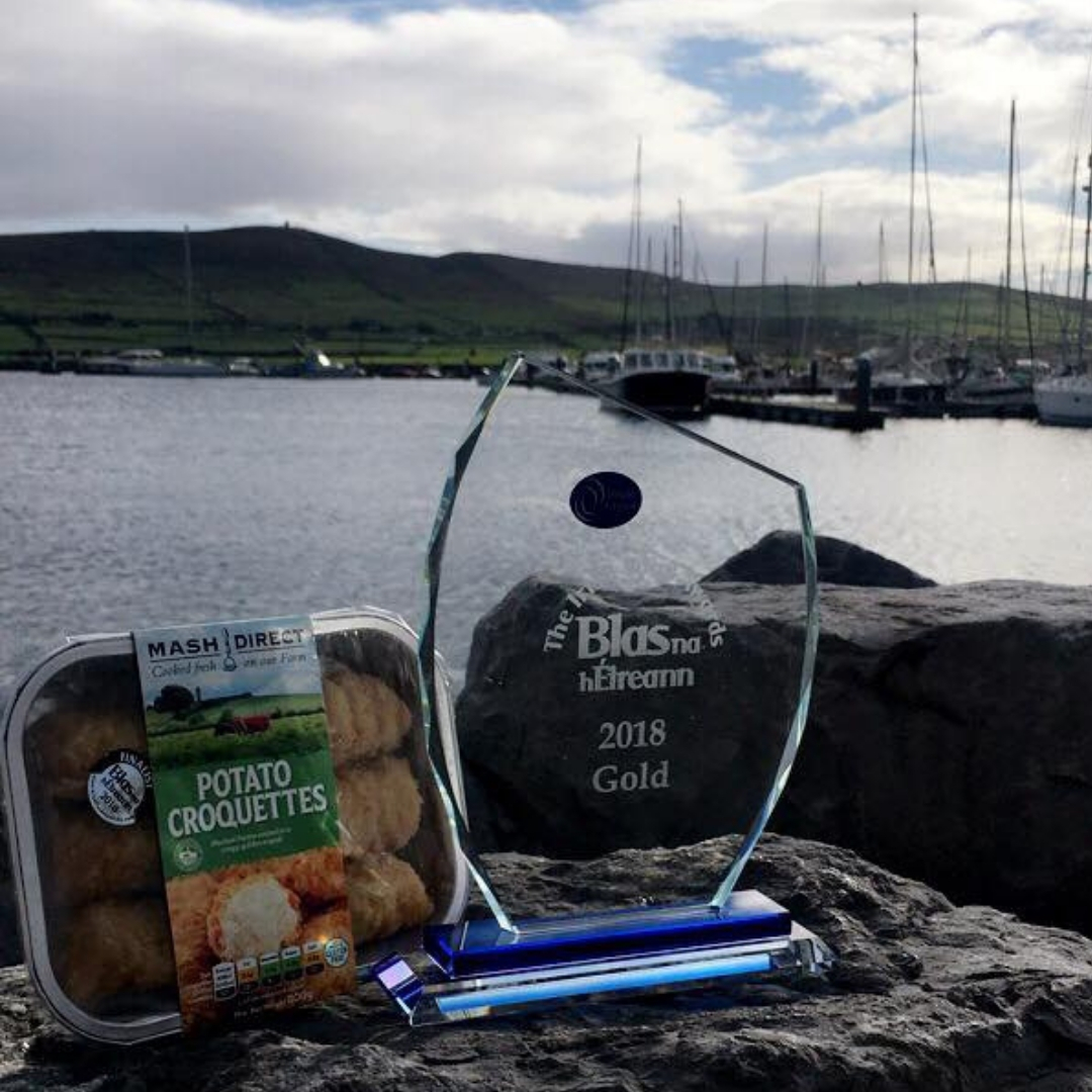 Mash Direct Croquettes Win All Ireland Gold