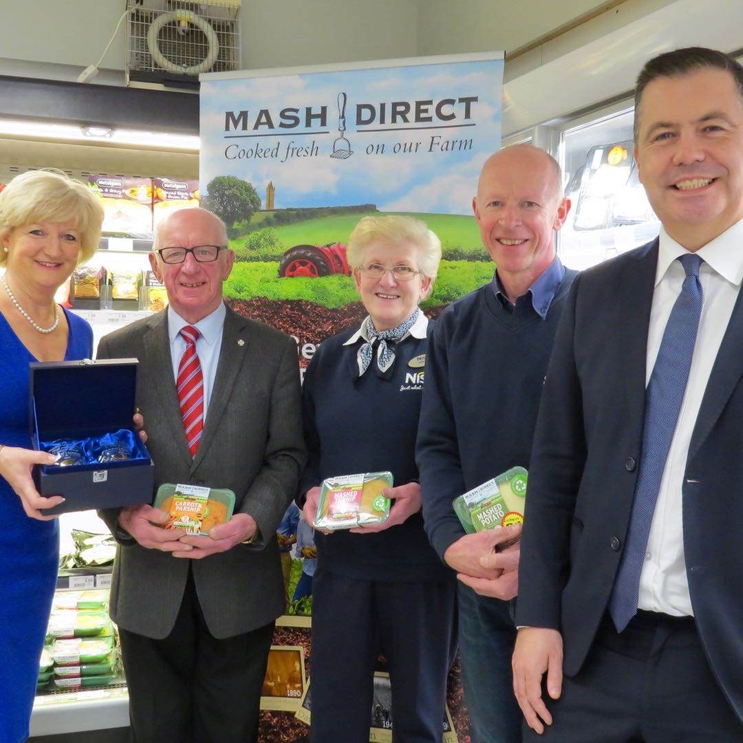 Mash Direct celebrates 15 years of business with Maguire's Nisa, Killyleagh