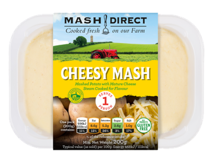 Cheesy Mash For One