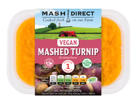 Vegan Mashed Turnip
