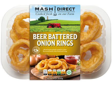 Beer Battered Onion Rings