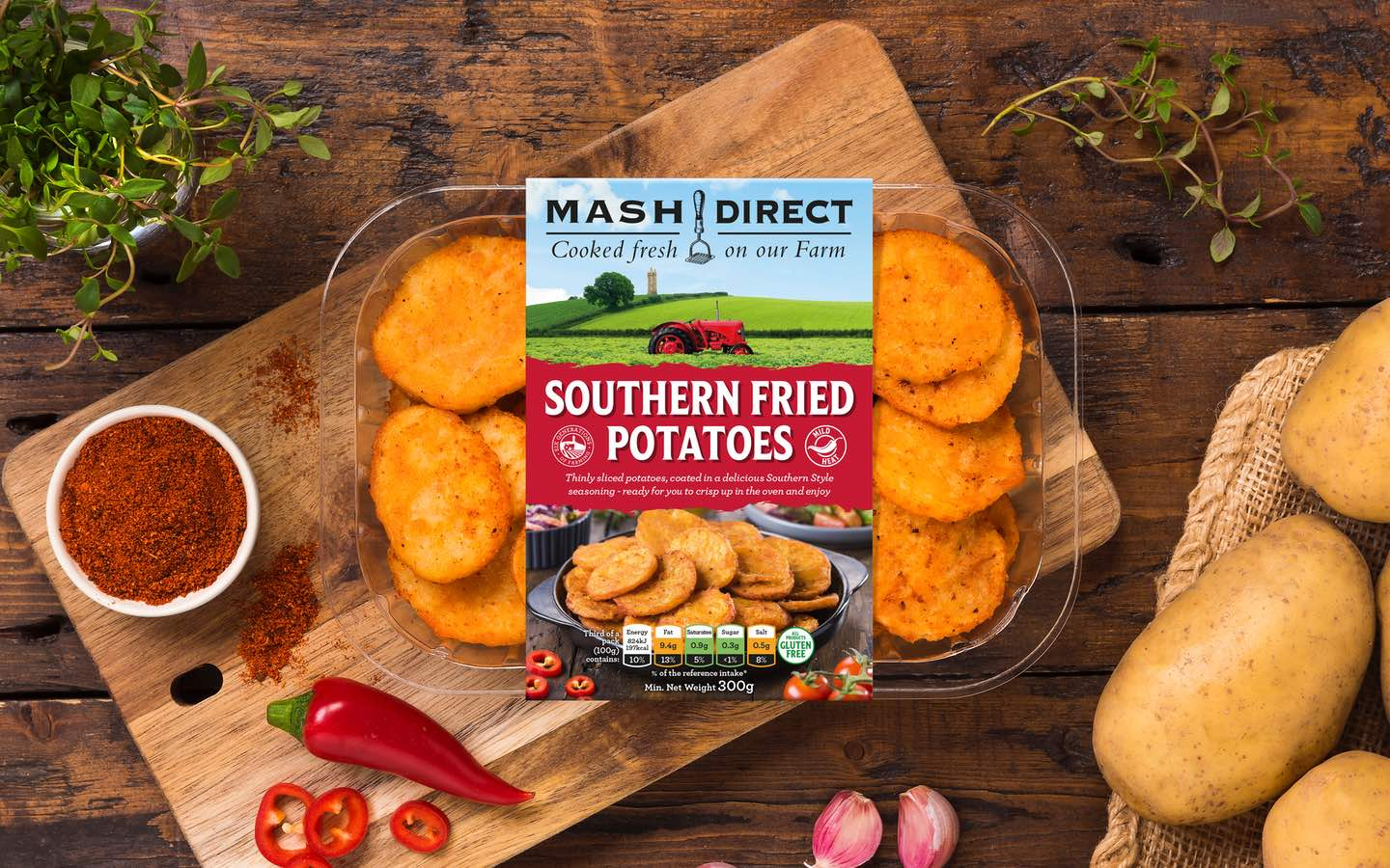 NEW and Improved Southern Fried Potatoes