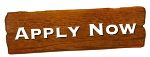 Apply Now Wooden Sign - button to link to Job Applications