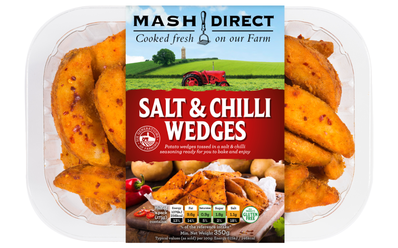 Salt & Chilli Wedges