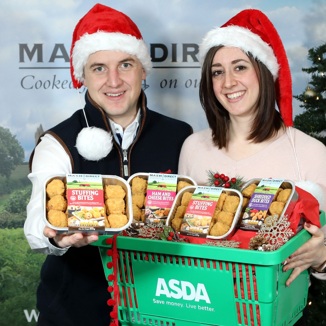 Mash Direct is 'Party-Ready' thanks to Festive Contract with Asda