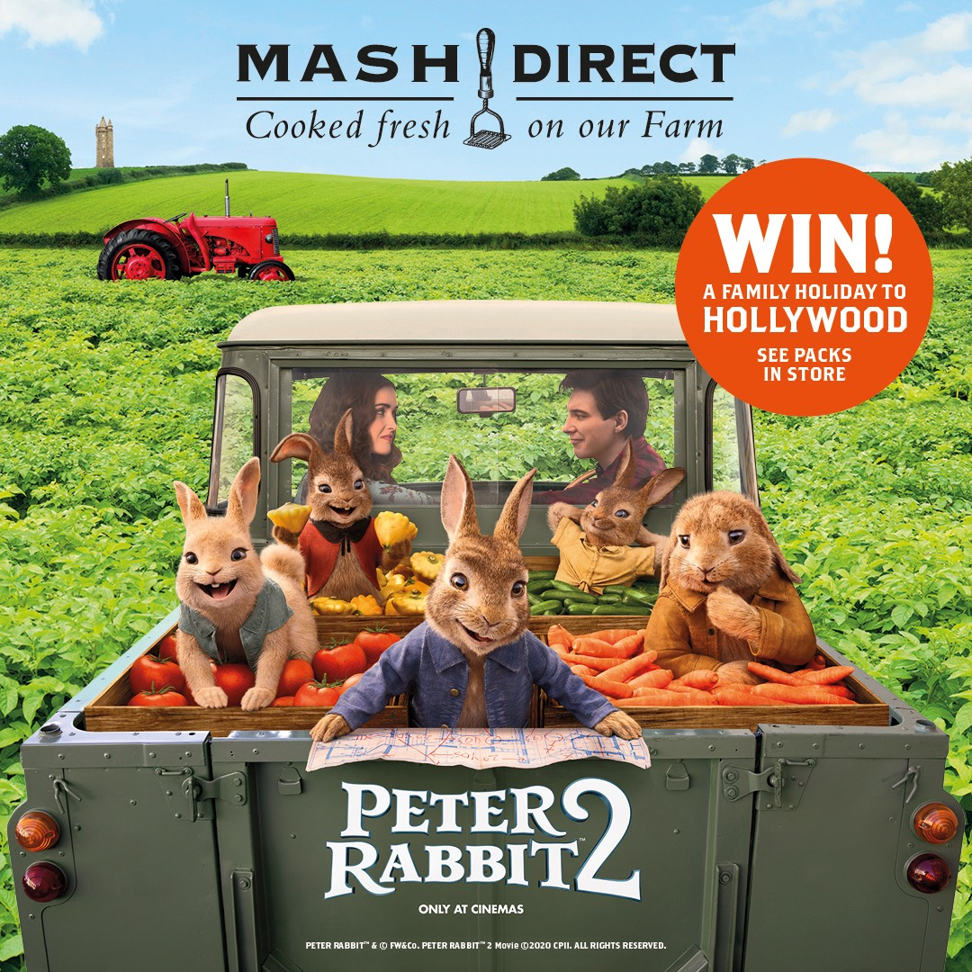 We've teamed up with Peter Rabbit!