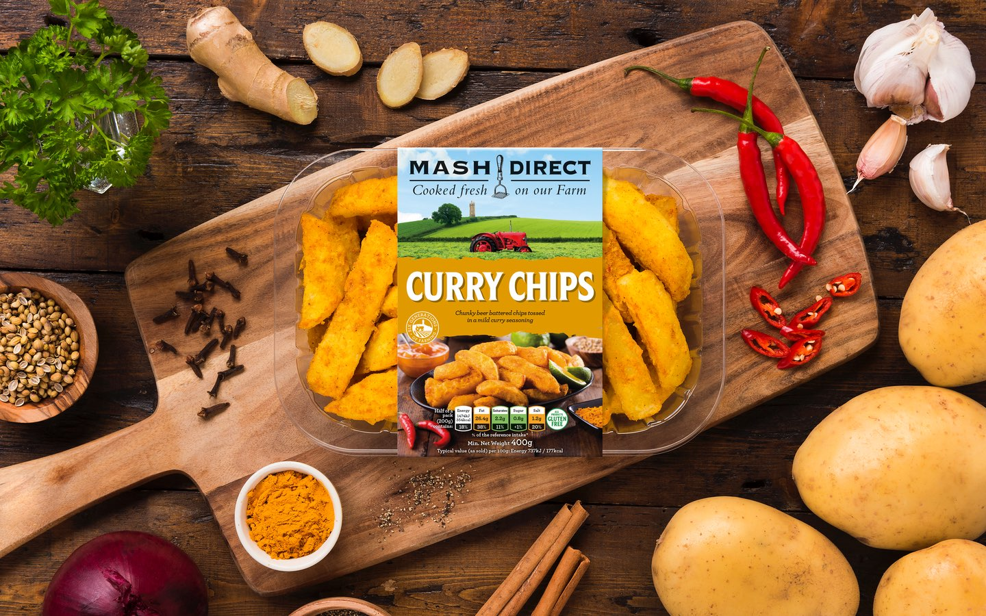 Now releasing: Curry Chips!