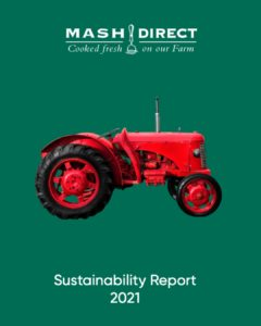 Mash Direct Sustainability Report 2021 Cover