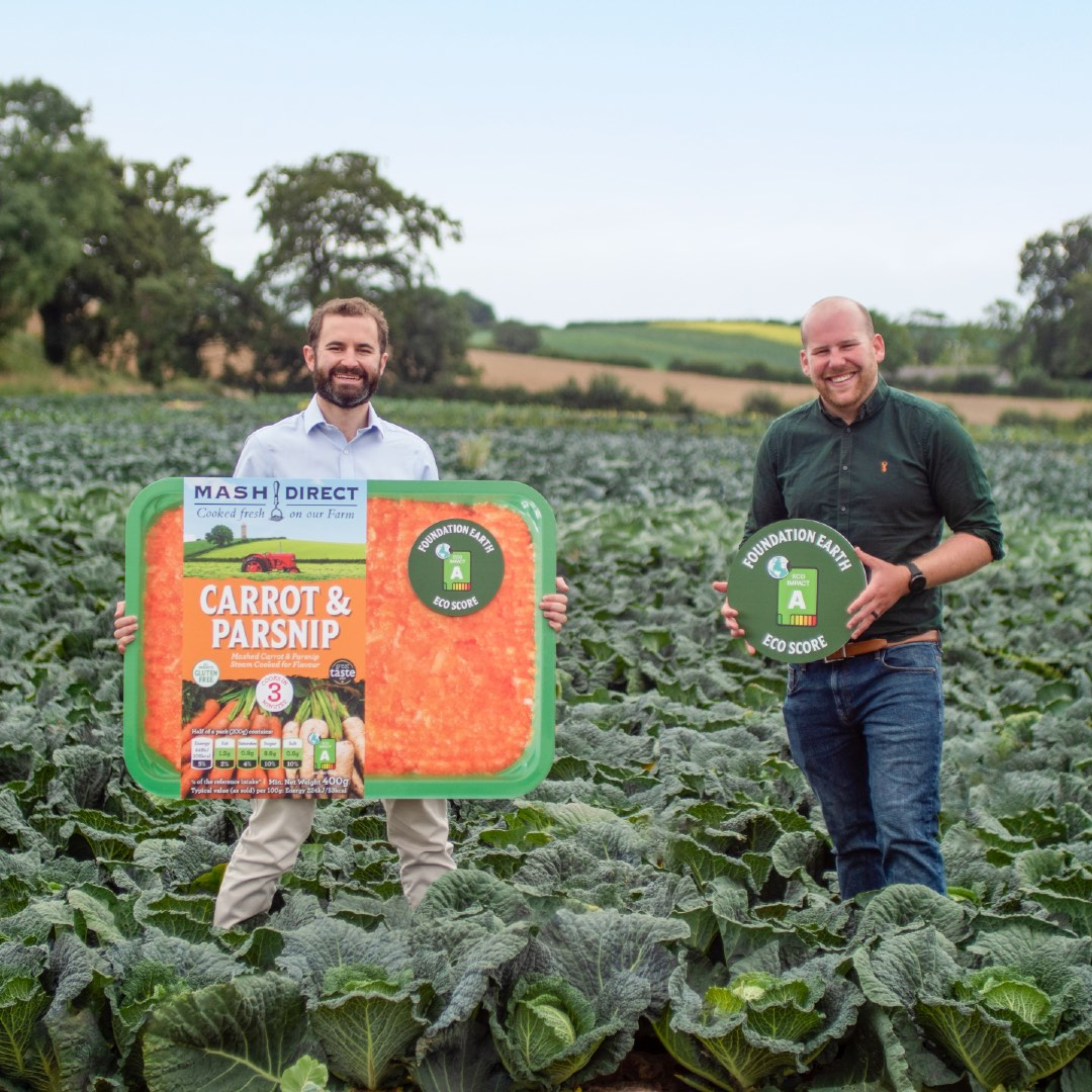 Mash Direct launch eco-labelling on packs to help you make more sustainable choices