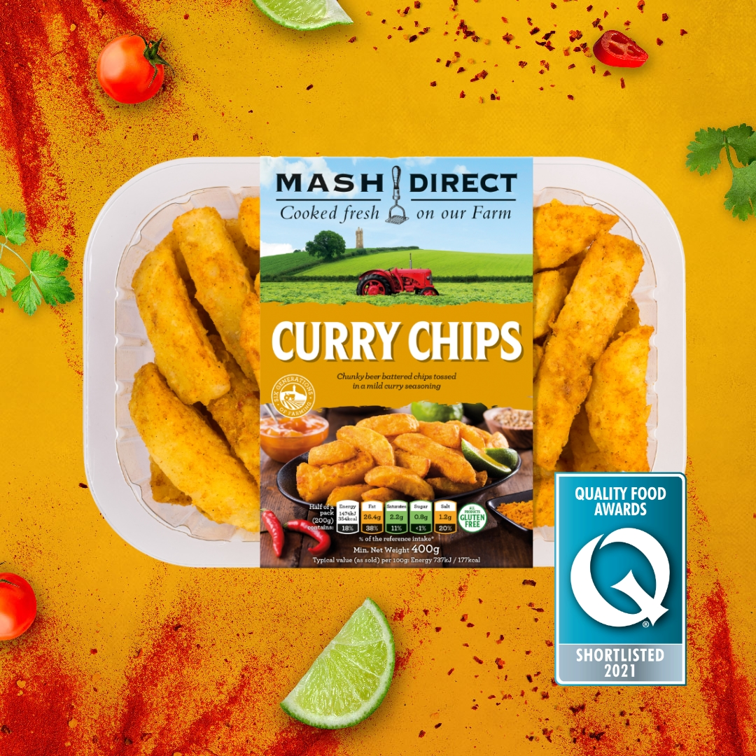 Quality Food Awards 2021 – Curry Chips